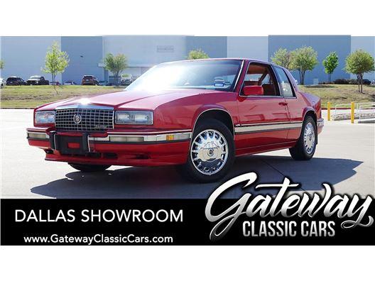 1990 Cadillac Eldorado for sale in DFW Airport, Texas 76051
