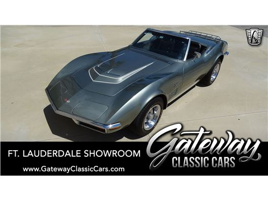 1972 Chevrolet Corvette for sale in Coral Springs, Florida 33065