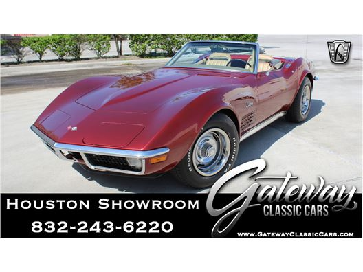 1971 Chevrolet Corvette for sale in Houston, Texas 77090