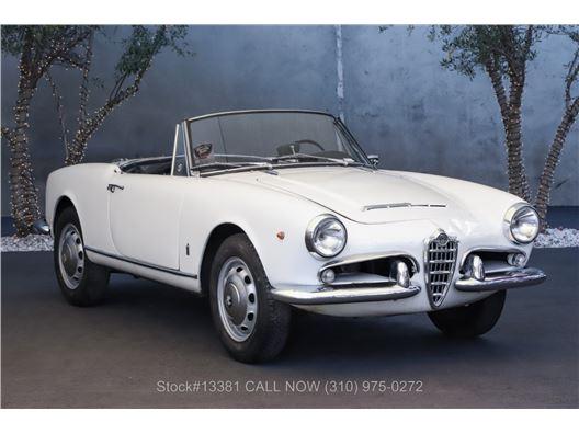 1963 Alfa Romeo Giulietta 1600 Spider for sale in Los Angeles, California 90063