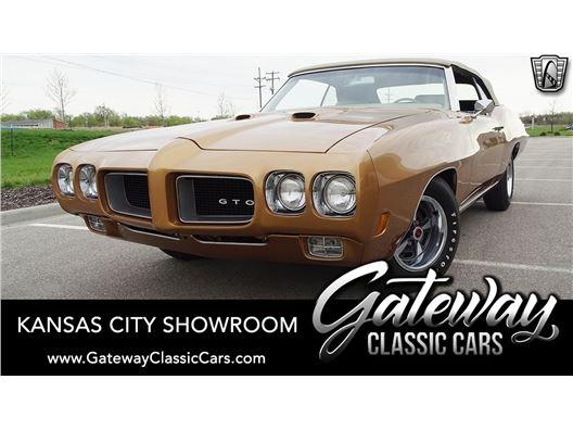 1970 Pontiac GTO for sale in Olathe, Kansas 66061