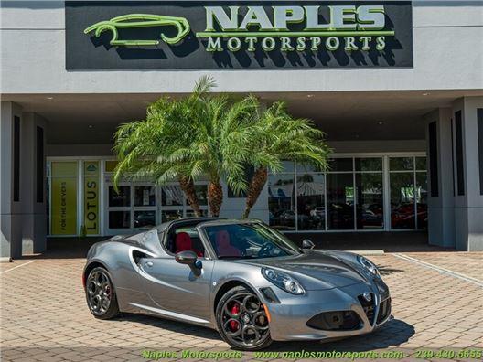 2020 Alfa Romeo 4C Spider for sale in Naples, Florida 34104