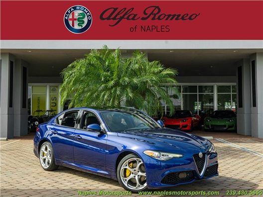 2021 Alfa Romeo Giulia Ti Sport for sale in Naples, Florida 34104