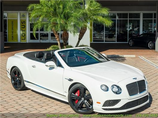 2016 Bentley Continental GT GTC Speed Convertible for sale in Naples, Florida 34104