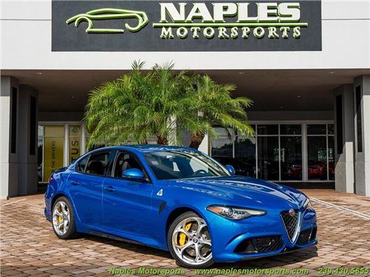 2021 Alfa Romeo Giulia Quadrifoglio for sale in Naples, Florida 34104