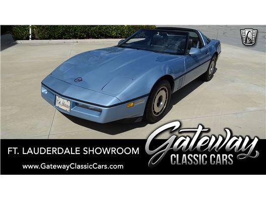 1984 Chevrolet Corvette for sale in Coral Springs, Florida 33065