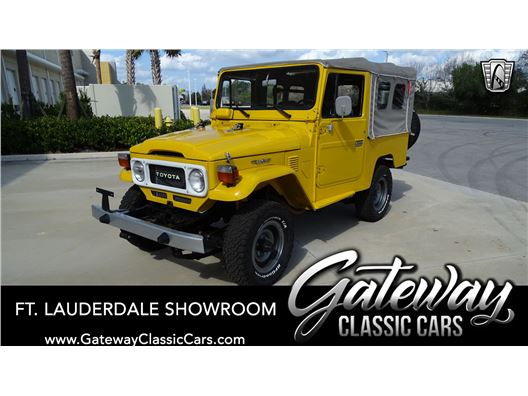 1981 Toyota FJ43 Land Cruiser for sale in Coral Springs, Florida 33065