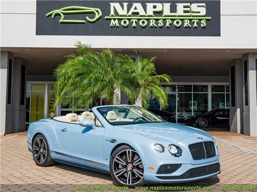 2017 Bentley Continental GT C V8 S for sale in Naples, Florida 34104