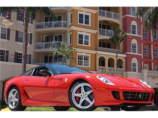 2011 Ferrari 599 HGTE for sale in Naples, Florida 34104