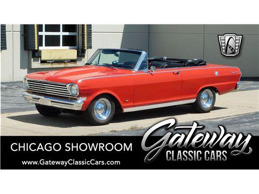 1963 Chevrolet Nova II for sale in Crete, Illinois 60417