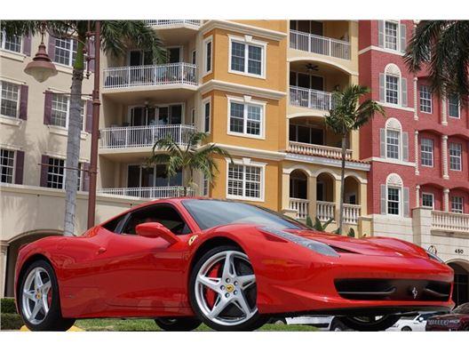 2014 Ferrari 458 Italia for sale in Naples, Florida 34104