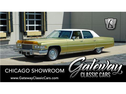 1976 Cadillac Fleetwood for sale in Crete, Illinois 60417