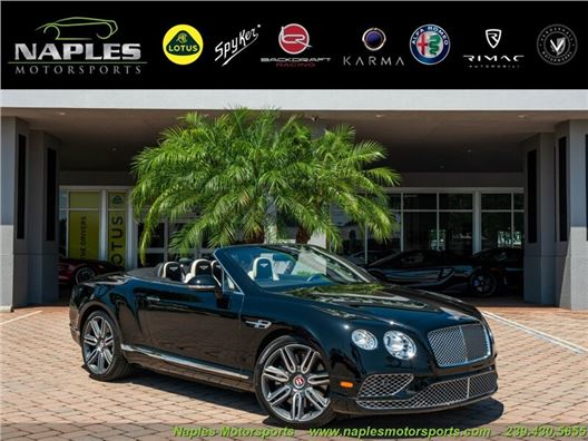 2017 Bentley Continental GT GT V8 for sale in Naples, Florida 34104