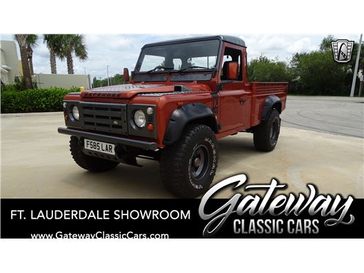1988 Land Rover Defender for sale in Coral Springs, Florida 33065