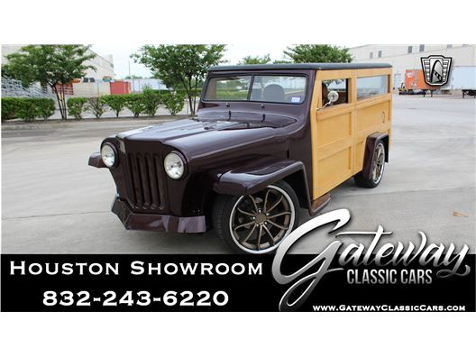 1951 Willys Woody for sale in Houston, Texas 77090