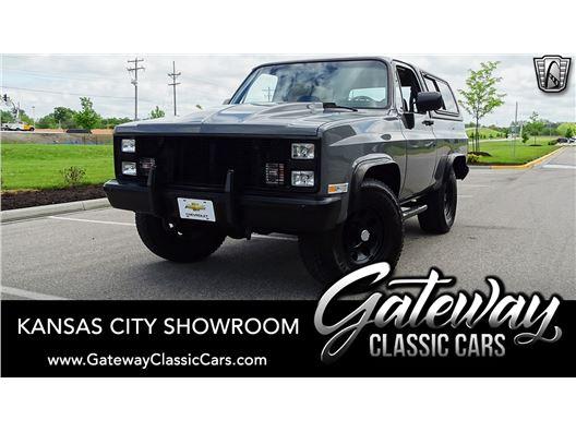 1986 Chevrolet K10 for sale in Olathe, Kansas 66061