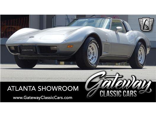 1978 Chevrolet Corvette for sale in Alpharetta, Georgia 30005