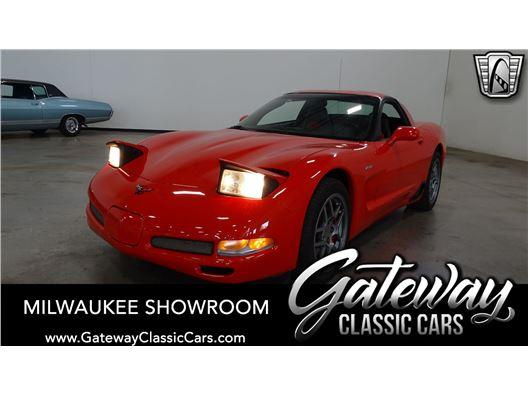 2001 Chevrolet Corvette for sale in Kenosha, Wisconsin 53144