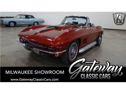 1967 Chevrolet Corvette for sale in Kenosha, Wisconsin 53144