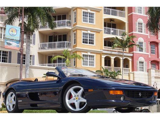1999 Ferrari F355 F1 Spider for sale in Naples, Florida 34104