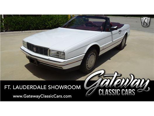 1991 Cadillac Allante for sale in Coral Springs, Florida 33065