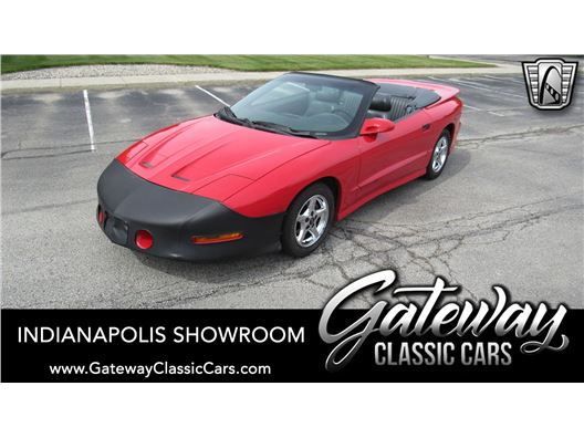 1996 Pontiac Firebird Trans-Am for sale in Indianapolis, Indiana 46268