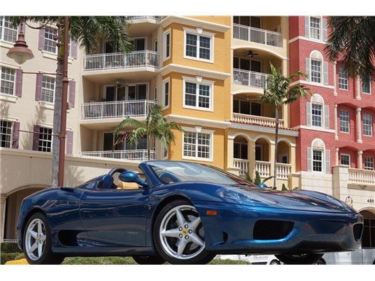 2002 Ferrari 360 Spider for sale in Naples, Florida 34104