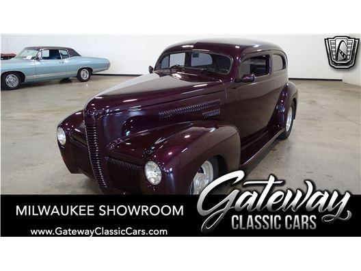 1940 Nash LaFayette for sale in Kenosha, Wisconsin 53144