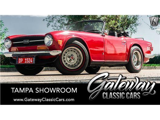 1972 Triumph TR6 for sale in Ruskin, Florida 33570