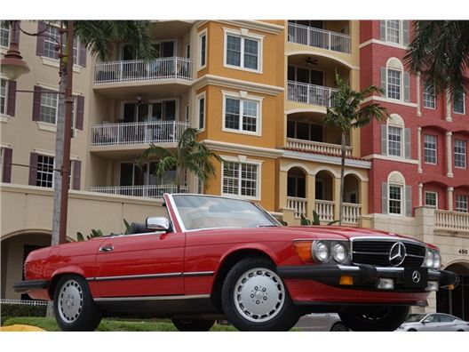 1989 Mercedes-Benz 560 SL for sale in Naples, Florida 34104