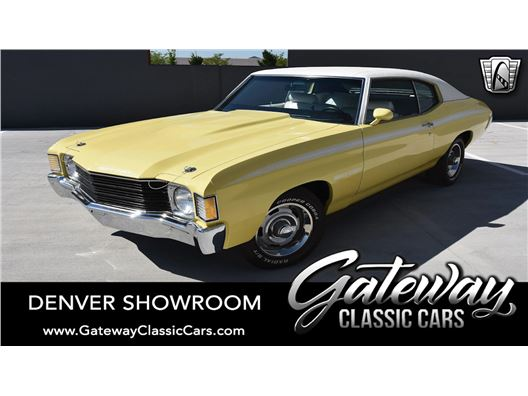 1972 Chevrolet Chevelle for sale in Englewood, Colorado 80112