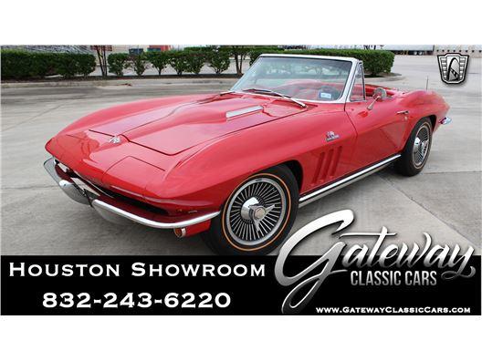 1965 Chevrolet Corvette for sale in Houston, Texas 77090