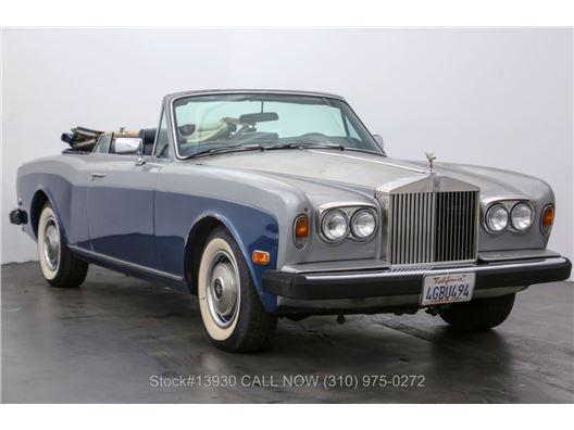 1983 Rolls-Royce Corniche for sale in Los Angeles, California 90063