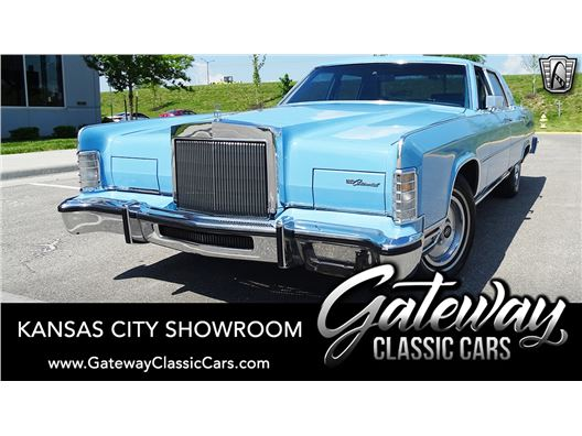 1978 Lincoln Continental for sale in Olathe, Kansas 66061