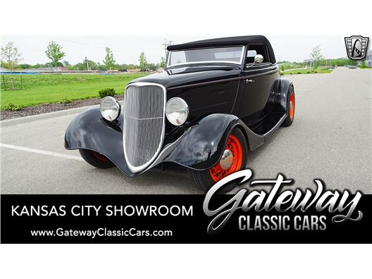 1934 Ford Convertible for sale in Olathe, Kansas 66061