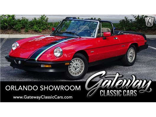1986 Alfa Romeo Spider for sale in Lake Mary, Florida 32746