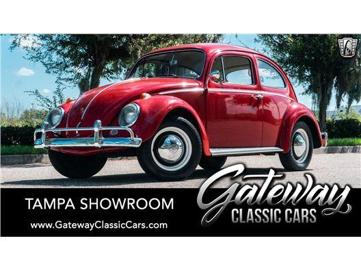 1964 Volkswagen Super Beetle for sale in Ruskin, Florida 33570