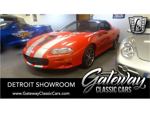 2002 Chevrolet Camaro for sale in Dearborn, Michigan 48120