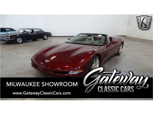 2003 Chevrolet Corvette for sale in Kenosha, Wisconsin 53144