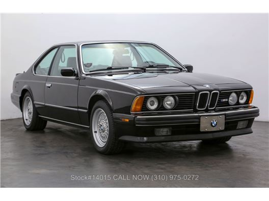 1988 BMW M6 for sale in Los Angeles, California 90063