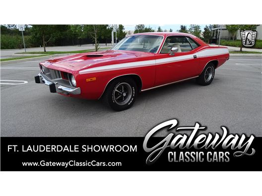1973 Plymouth Cuda for sale in Coral Springs, Florida 33065