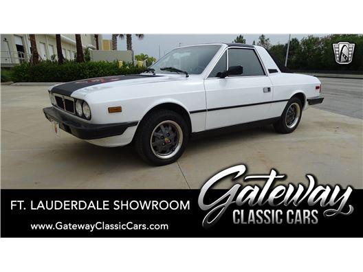 1981 Lancia Zagato for sale in Coral Springs, Florida 33065