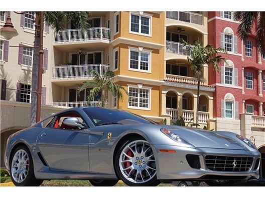 2007 Ferrari 599 GTB Fiorano F1 for sale in Naples, Florida 34104