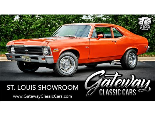 1972 Chevrolet Nova for sale in OFallon, Illinois 62269