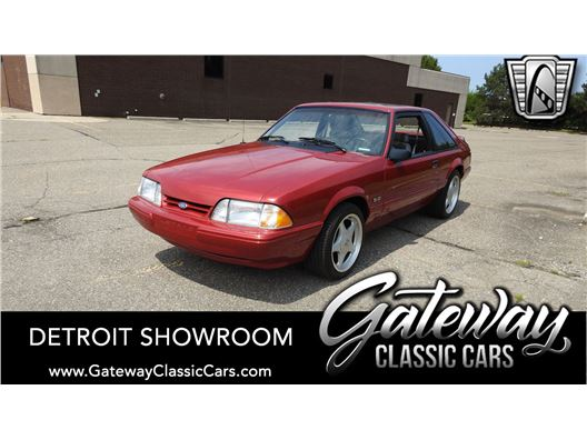 1991 Ford Mustang for sale in Dearborn, Michigan 48120