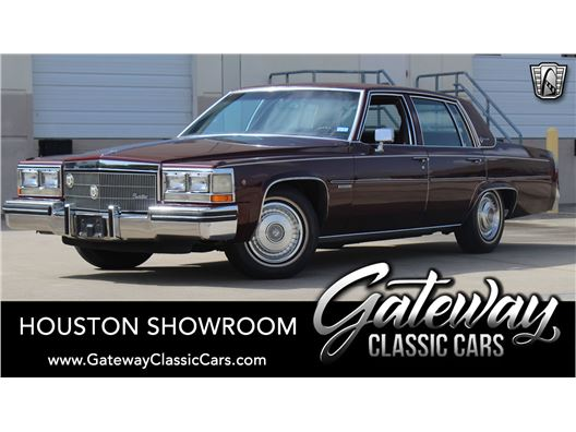 1983 Cadillac DeVille for sale in Houston, Texas 77090