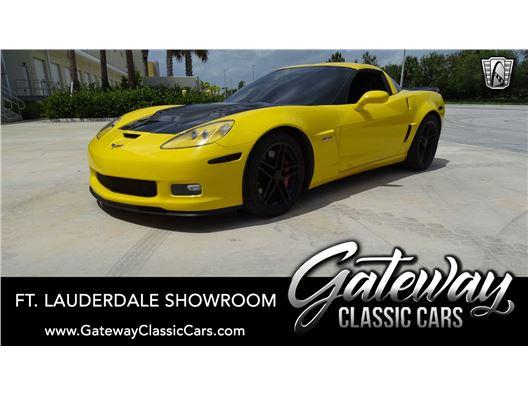 2007 Chevrolet Corvette for sale in Coral Springs, Florida 33065