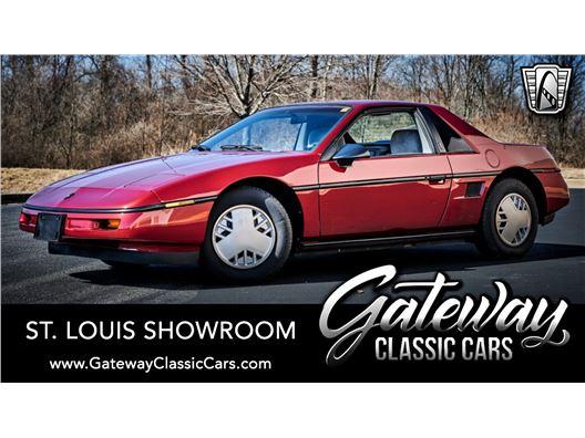 1987 Pontiac Fiero for sale in OFallon, Illinois 62269