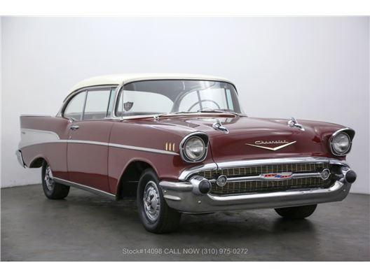 1957 Chevrolet Bel Air 2-Door Hardtop No Post for sale in Los Angeles, California 90063