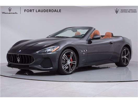 2018 Maserati GranTurismo Convertible for sale in Fort Lauderdale, Florida 33308